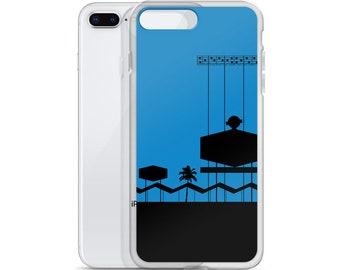 Dodger Stadium Silhouette - iPhone Case