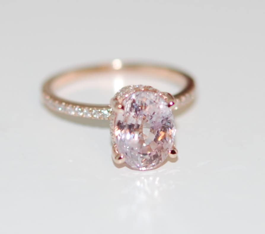 in cushion white m rings lavender round sapphire diamond ring rose fashion cut engagement and p gold