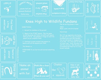 WOW Wildlife! Learn about and pretend to be animals with our wildlife game. Great for parents, camps