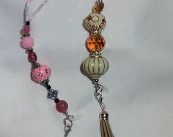 Handmade Rearview Bracelet 2 choices **Great Gift** for your car!