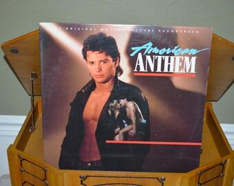 Vintage Vinyl Original Soundtrack Record: AMERICAN ANTHEM Album 81661-1E