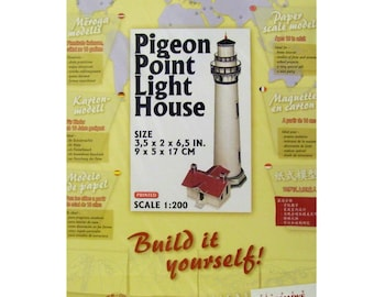Pigeon Point Lighthouse Paper Model Kit
