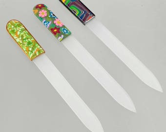 Embellished Crystal Nail File - Manicure Accessory - Personal Care Gift - Stocking Stuffer - Nail Salon
