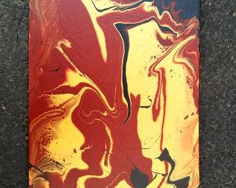 9x12 Handmade Abstract Painting