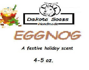 limited  holiday editions-EggNog cold process soap