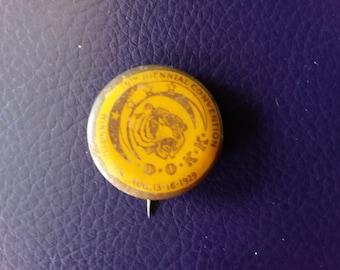 1929 Khorassan Fraternal Pin Back Button