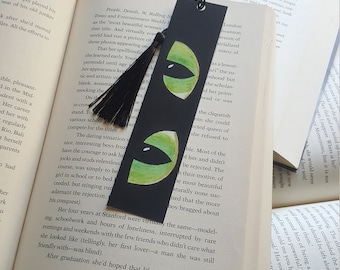 Beautiful Handmade Cat Eyes Bookmark