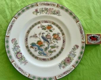 "Wedgwood Kutani Crane - 1st Quality - 10 3/4"" Dinner Plate x 4 [four]."