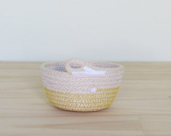 Extra Small Rope Bowl - Housewarming / Wedding gift