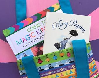 Fairytale Fantasy Book Bag With Pocket