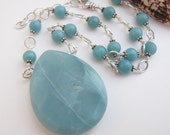 Amazonite Pendant and Rou...