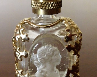 Miniature of Vintage Perfume,Mother's day,présents for Her,Caméo,Art and Collections