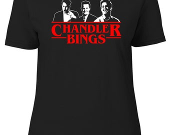 Chandler Bings Womens Fitted Tee T-Shirt