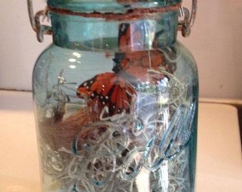 Fairy garden jar