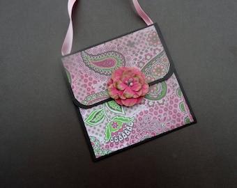 Gift Card Holder - Money Holder- Purse shapped Gift  Card Holder -- Purse Money Holder