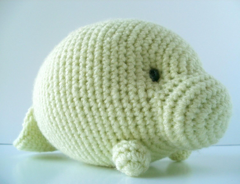 Crochet Pattern: Orlando the Manatee from BluephoneStudios on Etsy ...