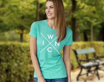 WINC - Hipster Unisex Tee for lovers of Winchester, VA