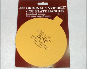 Small or Large Adhesive Plate / Platter Hanger