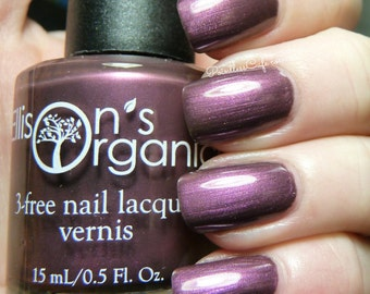Steppin' Out With My Baby Nail Polish - Aubergine 3-free Nail Lacquer - 0.5 oz Full Sized Bottle