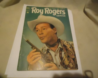 Vintage 1951 Roy Rogers Aug # 44 Comic Book Dell Comics,  collectable