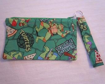 Teenage Mutant Ninja Turtle Wristlet/Pouch/Bag