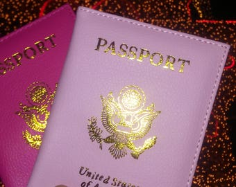 Pink Petals passport cover! (1)