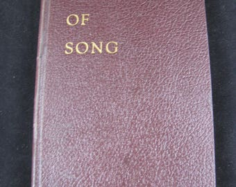 Fabric of Song // 1945  hardback // 115 Poems // compiled by Verseweavers