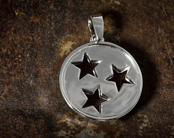Tennessee state flag pendant