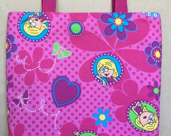 Lizzie McGuire Tote Bag