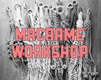 Macrame Plant Hanger Workshop: London- 7th July
