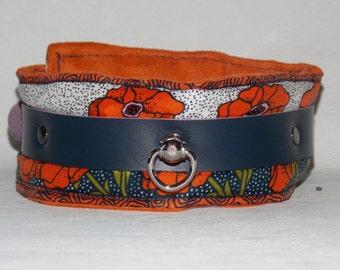 Leather Collar, BDSM Collar, Bondage Collar, Slave Collar, Submissive Collar, O Ring Collar, Fetish Collar, Locking Collar, Padded Collar