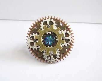 Spark, Steampunk Ring
