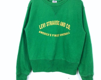 Vintage Levi's Strauss and Co. Sweatshirt Medium Size