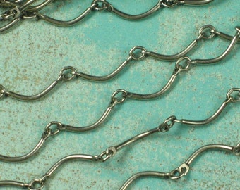 5 Ft Antique Silver Plated Steel Necklace Chain Jewelry Finding Ch05