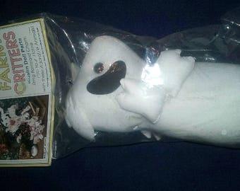 Farm Critters Stuffed Cotton Muslin Cow Doll Parts HBD06