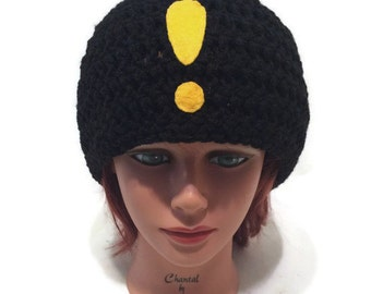 Quest Icon Hat, Exclamation Point, Geeky Hat, Gamer Hat, Nerdy Hat, Video Game Hat, Gifts for Gamers, Gamer Gifts, Gamer Cosplay, Video Game