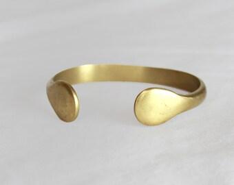 Brass Cuff Bracelet Vintage