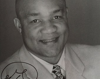 1994 George Foreman in person Signed Photograph