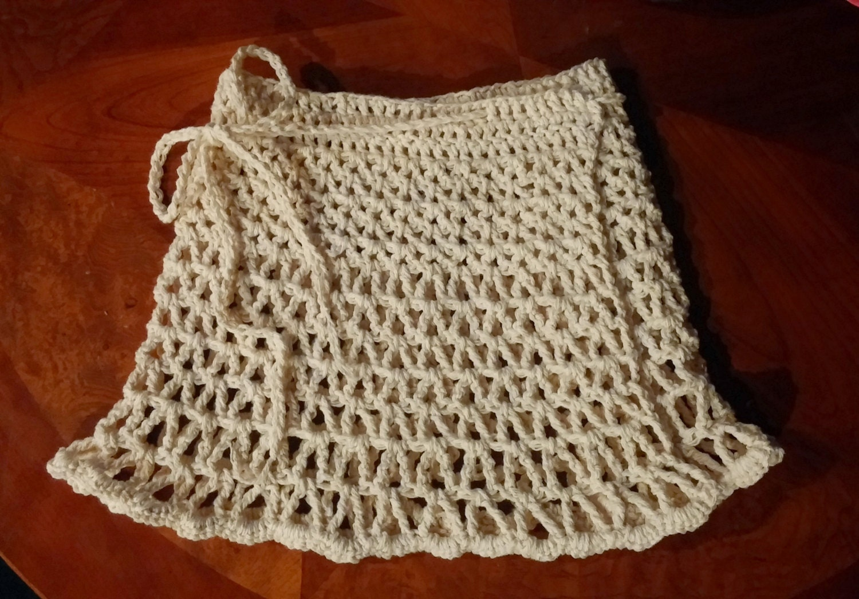 Beach Skirt PATTERN, Crochet Cover up, Crochet Skirt, The Lynette Beach Wrap Skirt PATTERN, girls and womens sizes