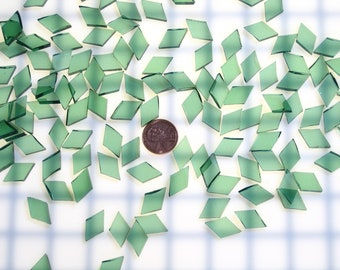 Sea Green Waterglass Tiles