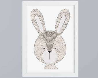 Bunny - unframed art print