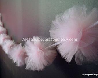 Light Pink Baby Shower decor Nursery garland decoration, birthday party decoration, baby gender reveal, wedding decor bunting