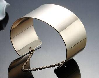 Bracelet trend cuff gold chain - 16.2 cm fermor