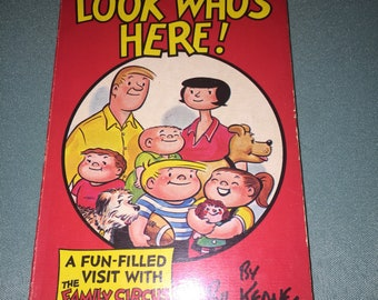 1972 - Look Who's Here! - The Family Circus By Bil Keane - Paperback