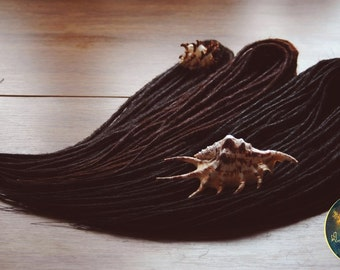 70 Double Ended Synthetic Dreadlocks. Synthetic dreads