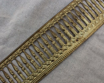 "2.5"" Brass  Banding Trim sold per foot"