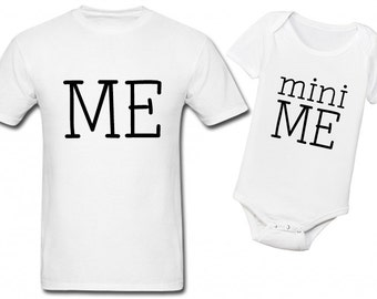 Me Mini Me Shirts, Dad And Baby Matching Shirts, Father Son Matching Shirts, Daddy And Son Shirts, Daddy Daughter Shirts, Father's Day Gifts