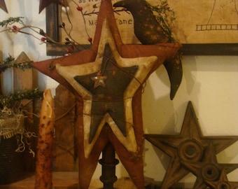 Primitive Americana Stars and Crow Make Do