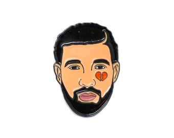 Heartbreak Drake Pin