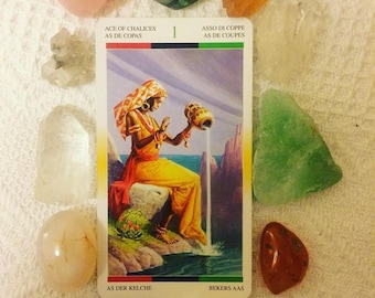 African American Tarot Card Reading, Divination, Intuitive Reading using Crystals